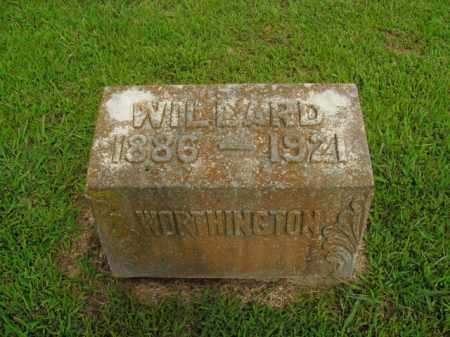 WORTHINGTON, WILLARD - Boone County, Arkansas | WILLARD WORTHINGTON - Arkansas Gravestone Photos