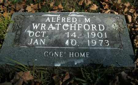 WRATCHFORD, ALFRED M. - Boone County, Arkansas | ALFRED M. WRATCHFORD - Arkansas Gravestone Photos