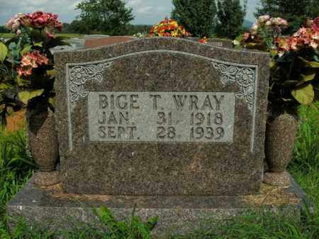 WRAY, BIGE T. - Boone County, Arkansas | BIGE T. WRAY - Arkansas Gravestone Photos