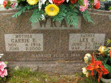 WRAY, CARRIE E. - Boone County, Arkansas | CARRIE E. WRAY - Arkansas Gravestone Photos
