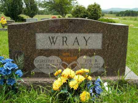 WRAY, JOE B. - Boone County, Arkansas | JOE B. WRAY - Arkansas Gravestone Photos