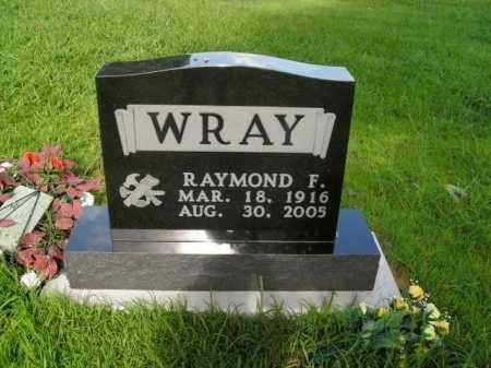 WRAY, RAYMOND FORREST - Boone County, Arkansas | RAYMOND FORREST WRAY - Arkansas Gravestone Photos