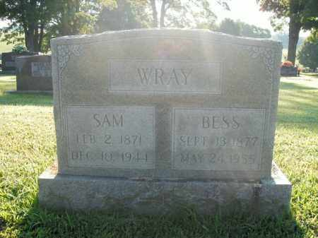 WRAY, SAM - Boone County, Arkansas | SAM WRAY - Arkansas Gravestone Photos