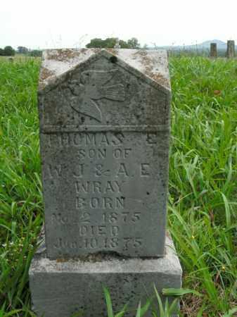 WRAY, THOMAS E. - Boone County, Arkansas   THOMAS E. WRAY - Arkansas Gravestone Photos