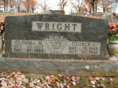 WRIGHT, CLEMMA M. - Boone County, Arkansas | CLEMMA M. WRIGHT - Arkansas Gravestone Photos