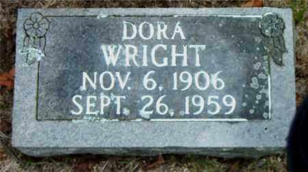 WRIGHT, DORA - Boone County, Arkansas | DORA WRIGHT - Arkansas Gravestone Photos