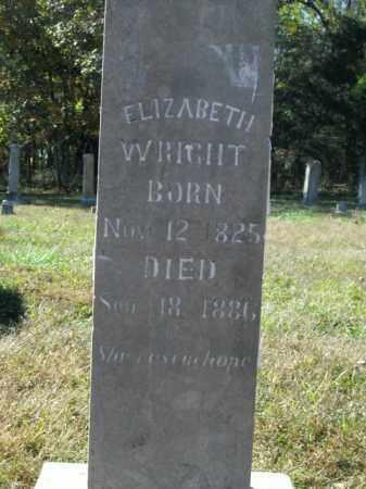 WRIGHT, ELIZABETH W. - Boone County, Arkansas | ELIZABETH W. WRIGHT - Arkansas Gravestone Photos