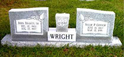 WRIGHT, SR, JOHN  FRANCIS - Boone County, Arkansas | JOHN  FRANCIS WRIGHT, SR - Arkansas Gravestone Photos