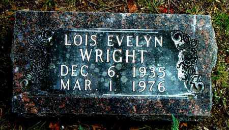 WRIGHT, LOIS EVELYN - Boone County, Arkansas | LOIS EVELYN WRIGHT - Arkansas Gravestone Photos