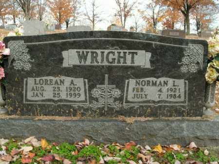WRIGHT, LOREAN A. - Boone County, Arkansas | LOREAN A. WRIGHT - Arkansas Gravestone Photos