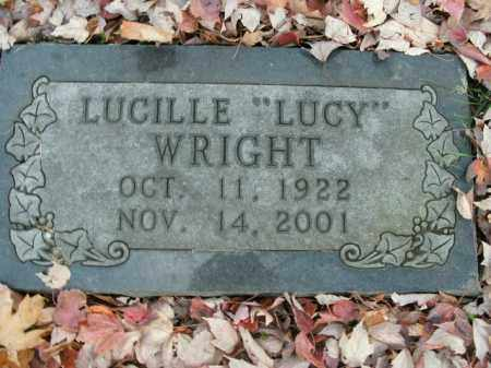 "WRIGHT, LUCILLE ""LUCY"" - Boone County, Arkansas 
