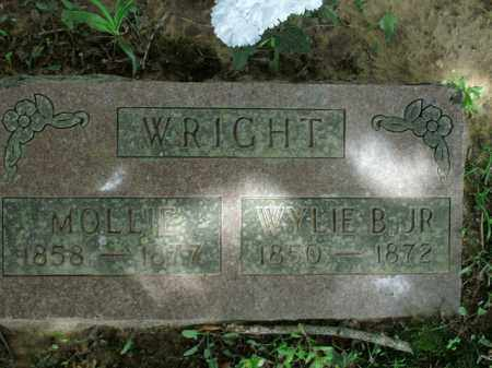WRIGHT, WYLIE B., JR. - Boone County, Arkansas | WYLIE B., JR. WRIGHT - Arkansas Gravestone Photos