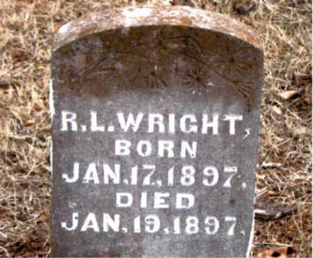 WRIGHT, R.  L. - Boone County, Arkansas | R.  L. WRIGHT - Arkansas Gravestone Photos