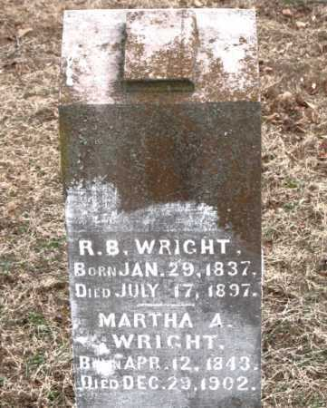WRIGHT, MARTHA A. - Boone County, Arkansas | MARTHA A. WRIGHT - Arkansas Gravestone Photos