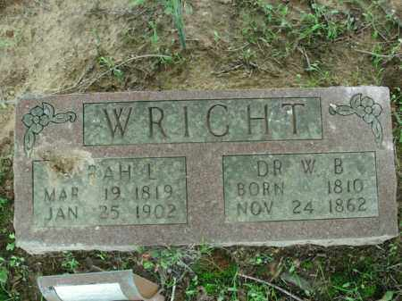 WRIGHT, SARAH L. - Boone County, Arkansas | SARAH L. WRIGHT - Arkansas Gravestone Photos