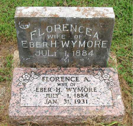 WYMORE, FLORENCE A - Boone County, Arkansas | FLORENCE A WYMORE - Arkansas Gravestone Photos