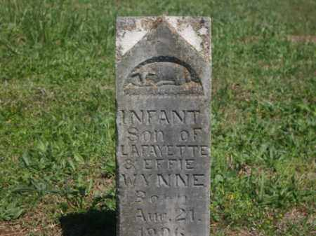 WYNNE, INFANT SON - Boone County, Arkansas | INFANT SON WYNNE - Arkansas Gravestone Photos