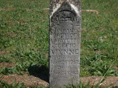 WYNNE, INFANT BABY - Boone County, Arkansas | INFANT BABY WYNNE - Arkansas Gravestone Photos