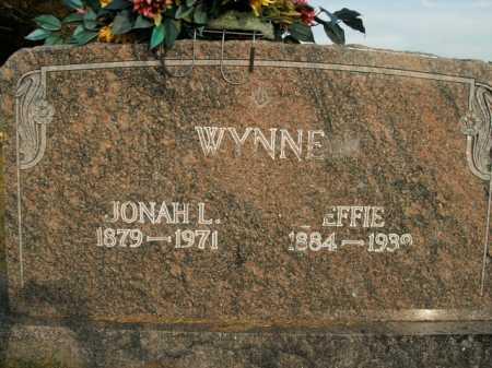 WYNNE, JONAH LAFAYETTE - Boone County, Arkansas | JONAH LAFAYETTE WYNNE - Arkansas Gravestone Photos