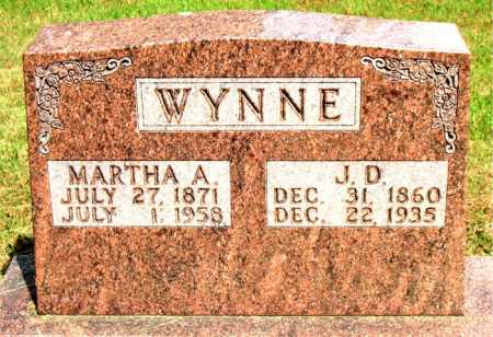 WYNNE, J. D . - Boone County, Arkansas | J. D . WYNNE - Arkansas Gravestone Photos