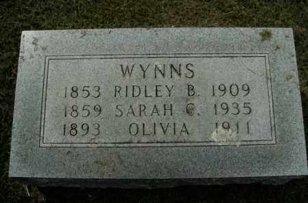 WYNNS, OLIVIA - Boone County, Arkansas | OLIVIA WYNNS - Arkansas Gravestone Photos
