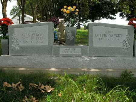 YANCEY, ALEX - Boone County, Arkansas | ALEX YANCEY - Arkansas Gravestone Photos