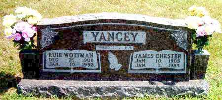 WORTMAN YANCEY, RUIE - Boone County, Arkansas | RUIE WORTMAN YANCEY - Arkansas Gravestone Photos