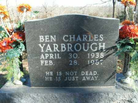 YARBROUGH, BEN CHARLES - Boone County, Arkansas | BEN CHARLES YARBROUGH - Arkansas Gravestone Photos
