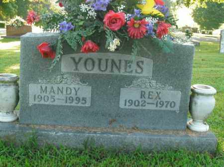 YOUNES, MANDY - Boone County, Arkansas | MANDY YOUNES - Arkansas Gravestone Photos