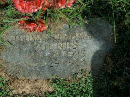 YOUNES, THOMAS FRANKLIN - Boone County, Arkansas | THOMAS FRANKLIN YOUNES - Arkansas Gravestone Photos