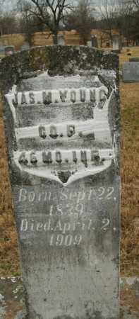 YOUNG  (VETERAN UNION), JAMES M - Boone County, Arkansas | JAMES M YOUNG  (VETERAN UNION) - Arkansas Gravestone Photos