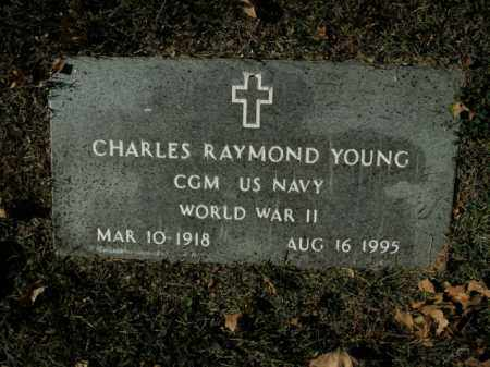 YOUNG  (VETERAN WWII), CHARLES RAYMOND - Boone County, Arkansas | CHARLES RAYMOND YOUNG  (VETERAN WWII) - Arkansas Gravestone Photos