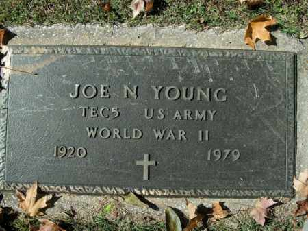YOUNG  (VETERAN WWII), JOE NORMAN - Boone County, Arkansas | JOE NORMAN YOUNG  (VETERAN WWII) - Arkansas Gravestone Photos