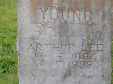 YOUNG, ARTHUR LEE - Boone County, Arkansas | ARTHUR LEE YOUNG - Arkansas Gravestone Photos