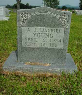 "YOUNG, A.J. ""JACKIE"" - Boone County, Arkansas 