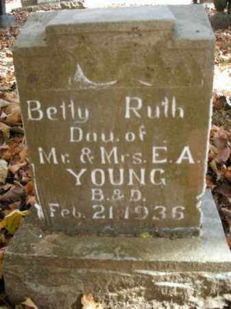 YOUNG, BETTY RUTH - Boone County, Arkansas | BETTY RUTH YOUNG - Arkansas Gravestone Photos