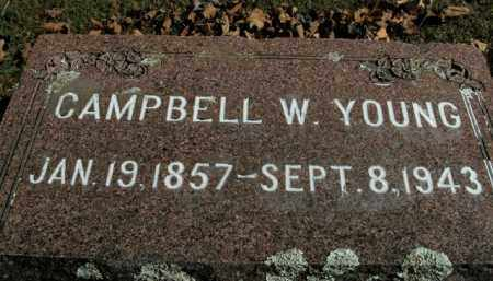 YOUNG, CAMPBELL W. - Boone County, Arkansas | CAMPBELL W. YOUNG - Arkansas Gravestone Photos
