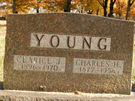 YOUNG, CHARLES H. - Boone County, Arkansas | CHARLES H. YOUNG - Arkansas Gravestone Photos