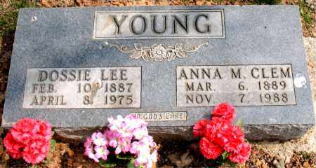 CLEM YOUNG, ANNA M. - Boone County, Arkansas | ANNA M. CLEM YOUNG - Arkansas Gravestone Photos