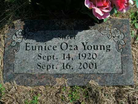 YOUNG, EUNICE OZA - Boone County, Arkansas | EUNICE OZA YOUNG - Arkansas Gravestone Photos