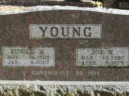 YOUNG, JOE NORMAN - Boone County, Arkansas | JOE NORMAN YOUNG - Arkansas Gravestone Photos