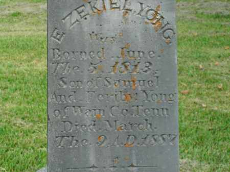 YO(U)NG, EZEKIEL - Boone County, Arkansas | EZEKIEL YO(U)NG - Arkansas Gravestone Photos