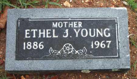 YOUNG, ETHEL J - Boone County, Arkansas | ETHEL J YOUNG - Arkansas Gravestone Photos