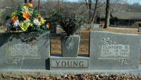 YOUNG, FLOSSIE L. - Boone County, Arkansas | FLOSSIE L. YOUNG - Arkansas Gravestone Photos
