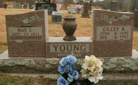 YOUNG, GILLEY B. - Boone County, Arkansas | GILLEY B. YOUNG - Arkansas Gravestone Photos