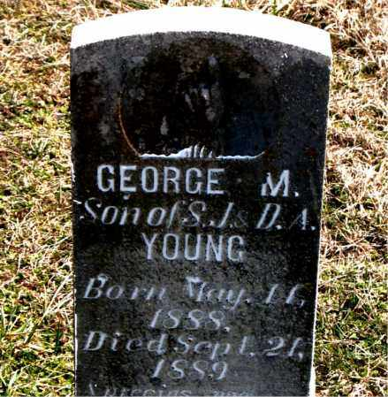 YOUNG, GEORGE  M. - Boone County, Arkansas | GEORGE  M. YOUNG - Arkansas Gravestone Photos