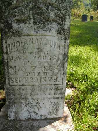 YOUNG, INDIANA - Boone County, Arkansas | INDIANA YOUNG - Arkansas Gravestone Photos