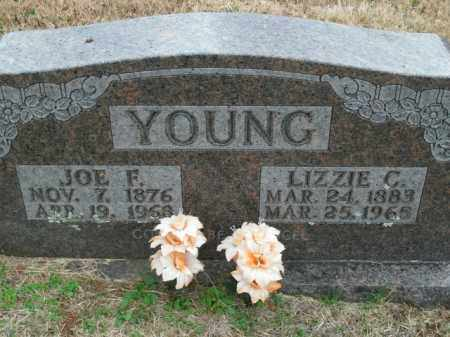 YOUNG, LIZZIE C. - Boone County, Arkansas | LIZZIE C. YOUNG - Arkansas Gravestone Photos