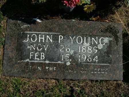 YOUNG, JOHN P. - Boone County, Arkansas | JOHN P. YOUNG - Arkansas Gravestone Photos