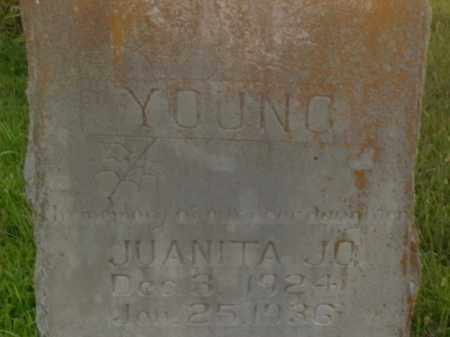 YOUNG, JUANITA JO - Boone County, Arkansas | JUANITA JO YOUNG - Arkansas Gravestone Photos